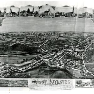Maps Detailing West Boylston and the Oakdale District