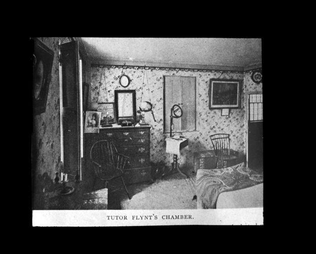 Chamber of Tutor Flynt at Dorothy Quincy house
