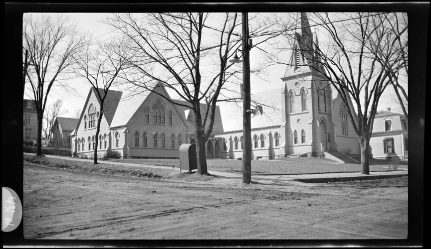 Wollaston Baptist Church. Prospect Avenue. March 1919