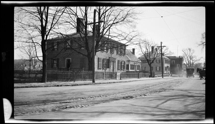 Wm. Wood house. Franklin St. 1919