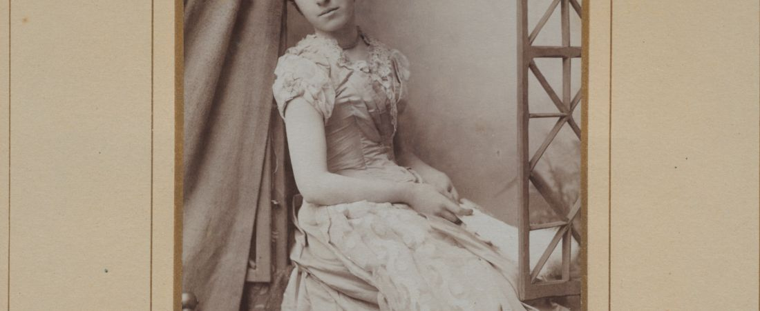 Newton High School, class of 1890 photographs
