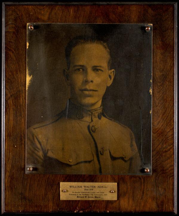 William Walter Adams, died 1918