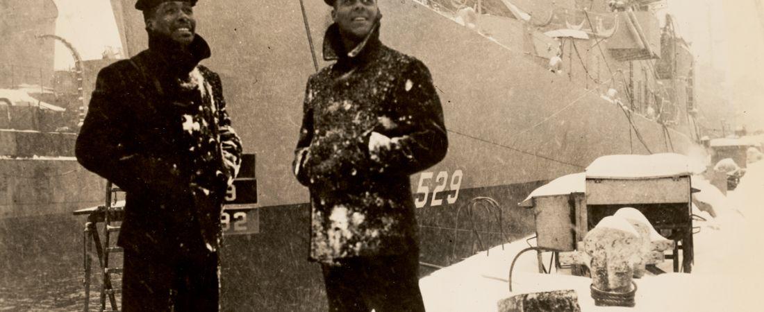 First Predominately Negro Ship Commissioned USS Mason
