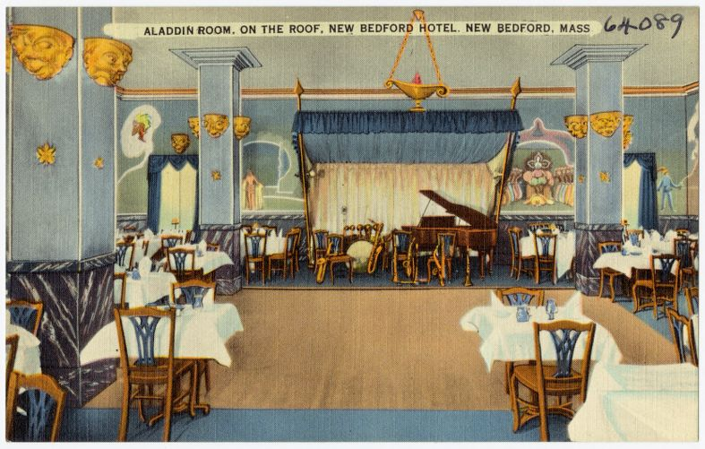 Aladdin Room, on the roof, New Bedford Hotel, New Bedford, Mass.
