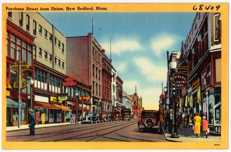 Purchase Street, from Union, New Bedford, Mass.