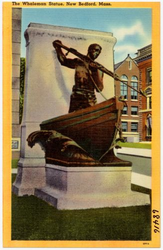 The Whaleman Statue, New Bedford, Mass.