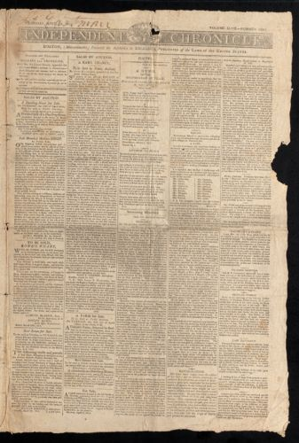 Independent Chronicle, April 13, 1815