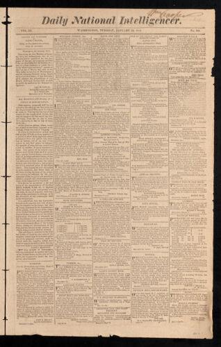 Daily National Intelligencer, January 10, 1815