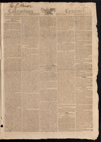 Columbian Centinel, May 5, 1813