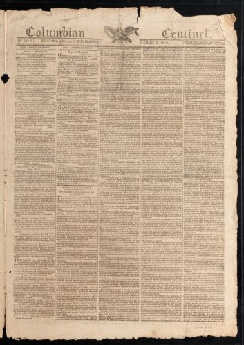 Columbian Centinel, March 3, 1813