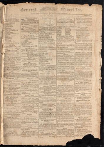General Advertiser, January 27, 1813