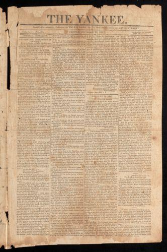 The Yankee, September 18, 1812