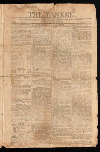 The Yankee, September 11, 1812