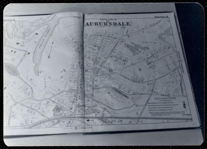 Newton Free Library, Newton, MA. Staff & trustees. Atlas - Auburndale
