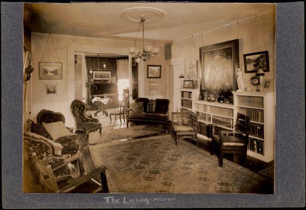 Schools & colleges. Newton, MA. Allen School, living room