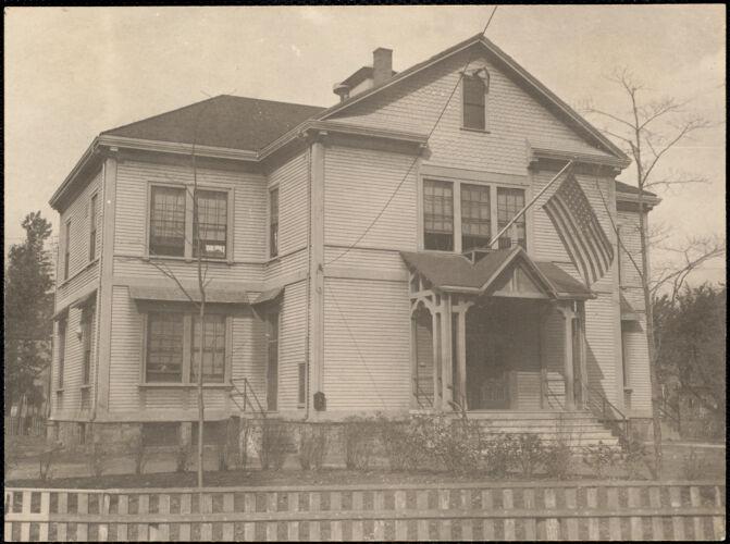 Adams School, Watertown St., Newtonville