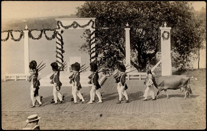 "1st & 2nd Detachment of British soldiers ""Nabby Blackington"""