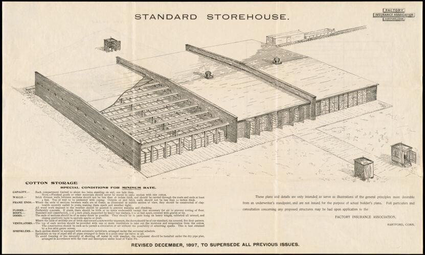 Standard storehouse [insurance map]