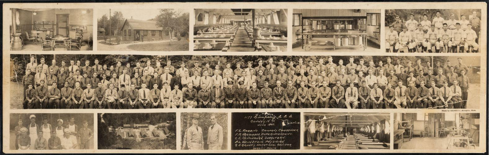 1177 Company C.C.C., Conway, N.H., June 1940