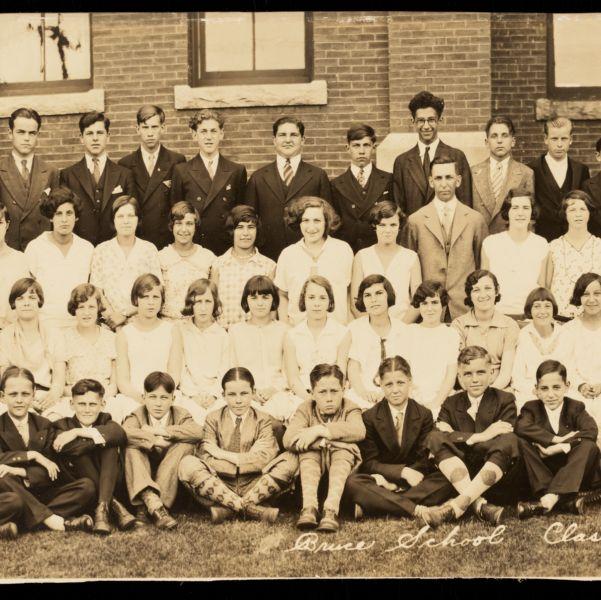 Bruce School class 1930