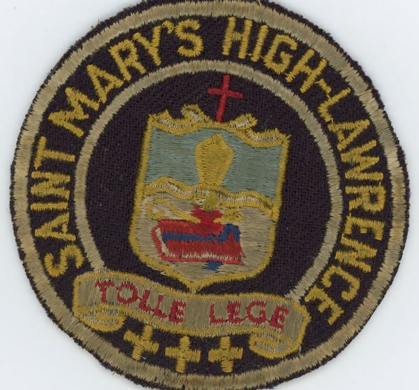 Saint Mary's High, Lawrence, tolle lege