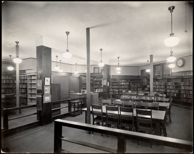 Andrew Square Branch Library. Intensity: 7.0 foot-candles
