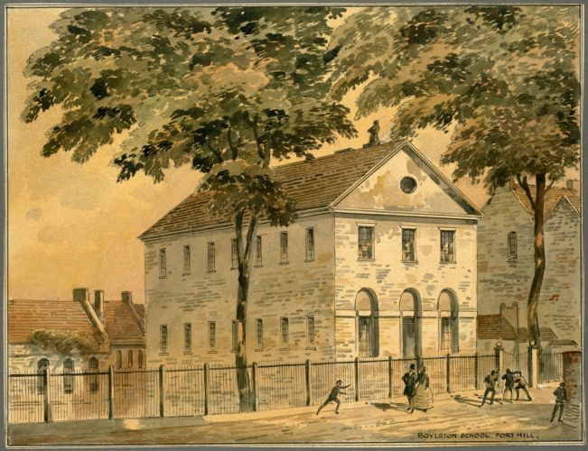 Boylston School, Fort Hill