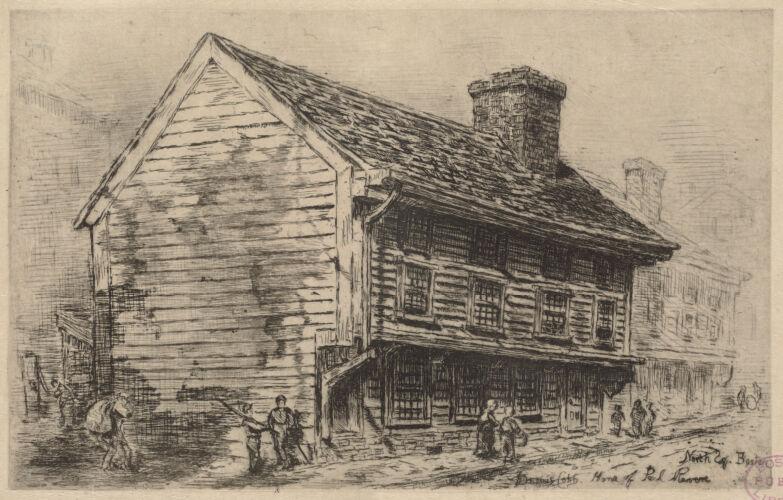 Home of Paul Revere, North Sq. Boston
