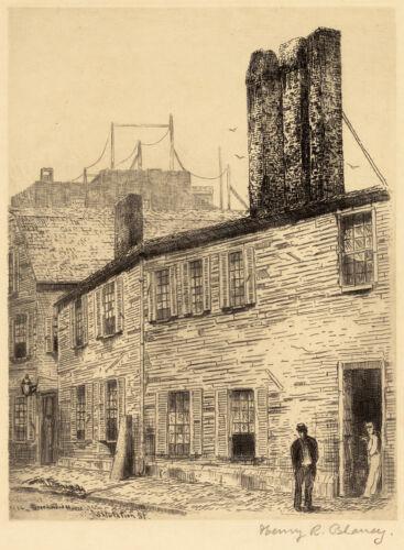 Greenwood House, [built] 1650. Salutation St.