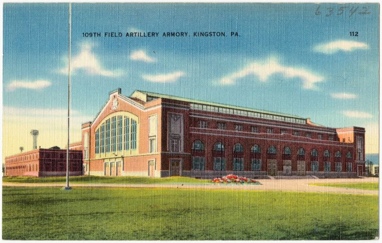 109th Field Artillery Armory, Kingston, PA.