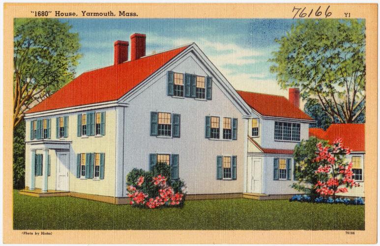 """""""1680"""" House, Yarmouth, Mass."""