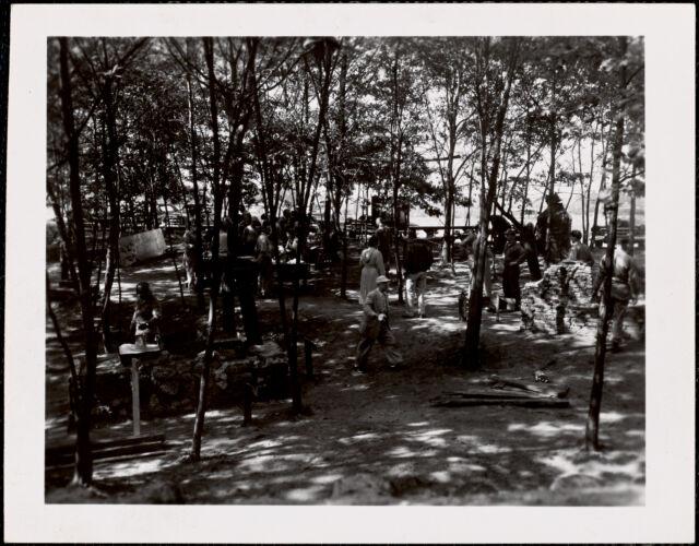 Emergency Mass Feeding, Fort Dix, New Jersey [1954]