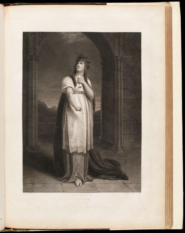 Shakspeare. Macbeth, act I, scene V
