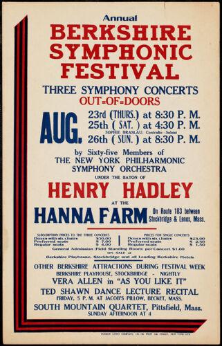 Annual Berkshire Symphonic Festival