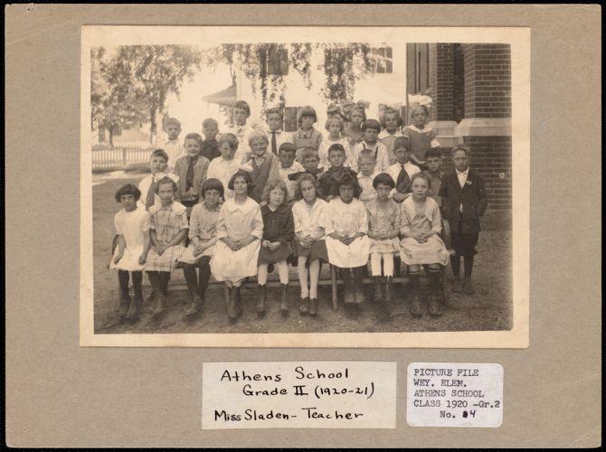 Athens School Grade II (1920-21), Miss Sladen - teacher