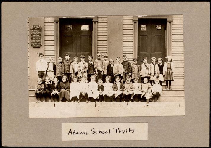 Adams School pupils