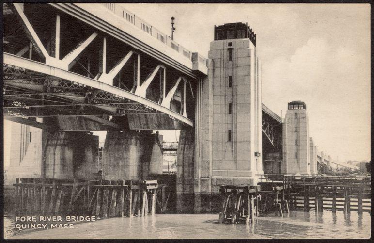 Fore River Bridge- Quincy, Mass.