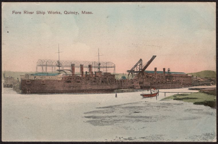 Fore River Ship Works, Quincy, Mass.