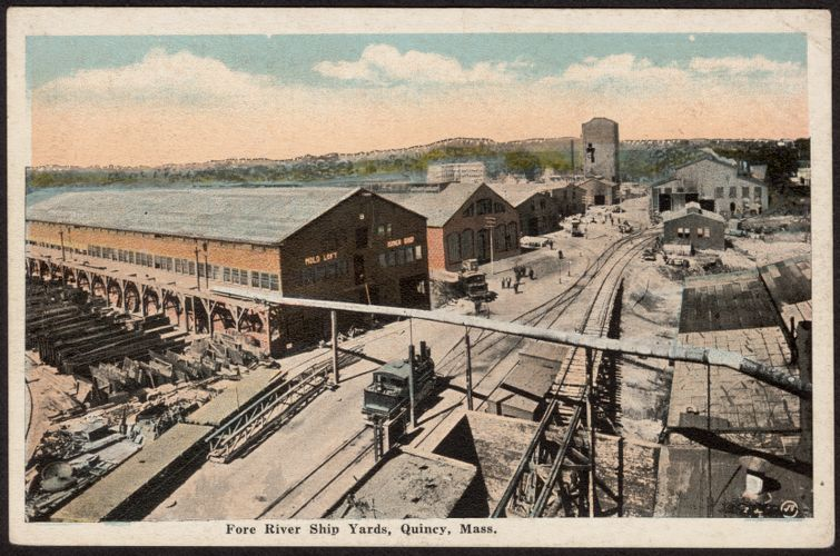Fore River Ship Yards, Quincy, Mass.