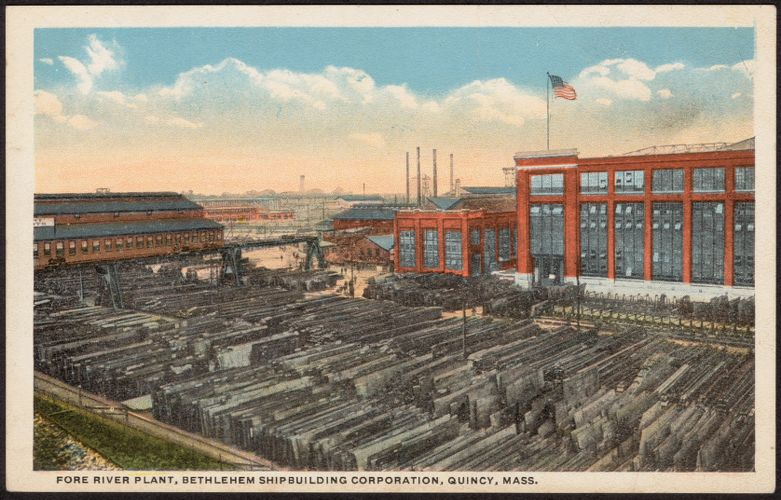 Fore River Plant, Bethlehem Shipbuilding Corporation, Quincy, Mass.