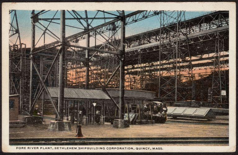 Fore River Plant, Bethlehem Shipbuilding Corporation, Quincy, Mass.