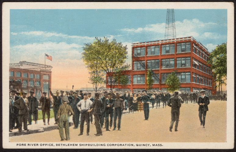 Fore River Office, Bethlehem Shipbuilding Corporation, Quincy, Mass.