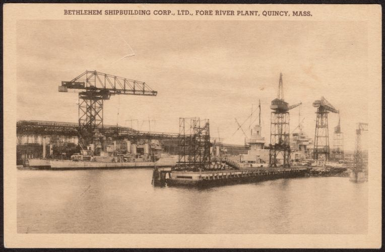 Bethlehem Shipbuilding Corp., Ltd., Fore River Plant, Quincy, Mass.