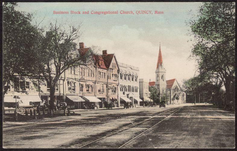 Business block, Congregational Church
