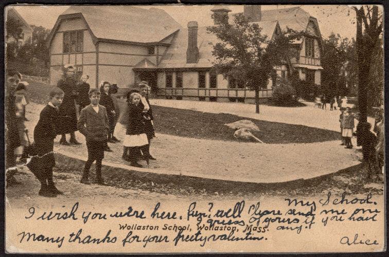 Wollaston School, Wollaston, Mass