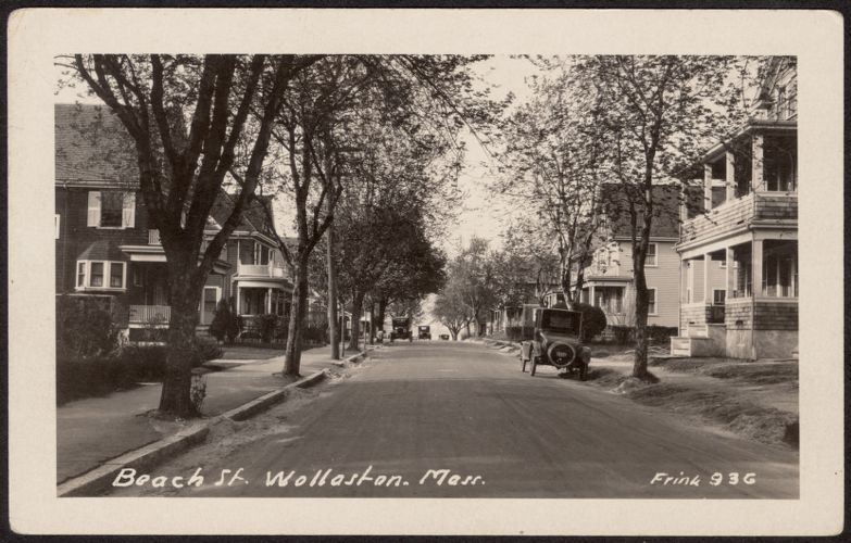 Beach St., Wollaston, Mass