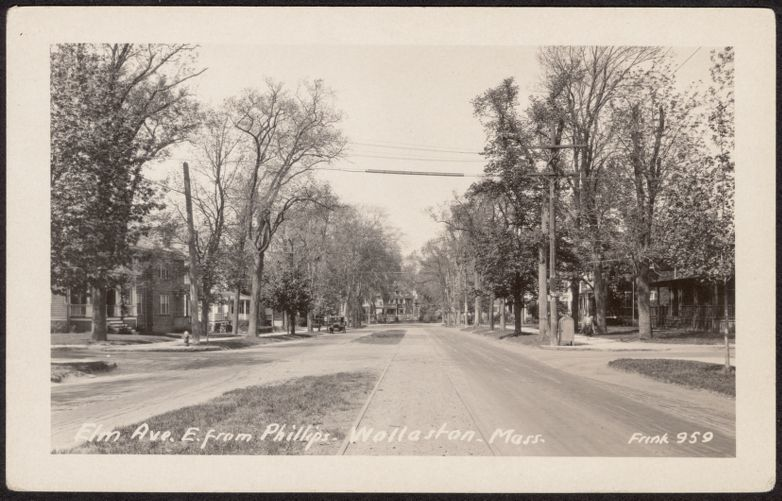 Elm Ave. E., from Phillips Wollaston, Mass