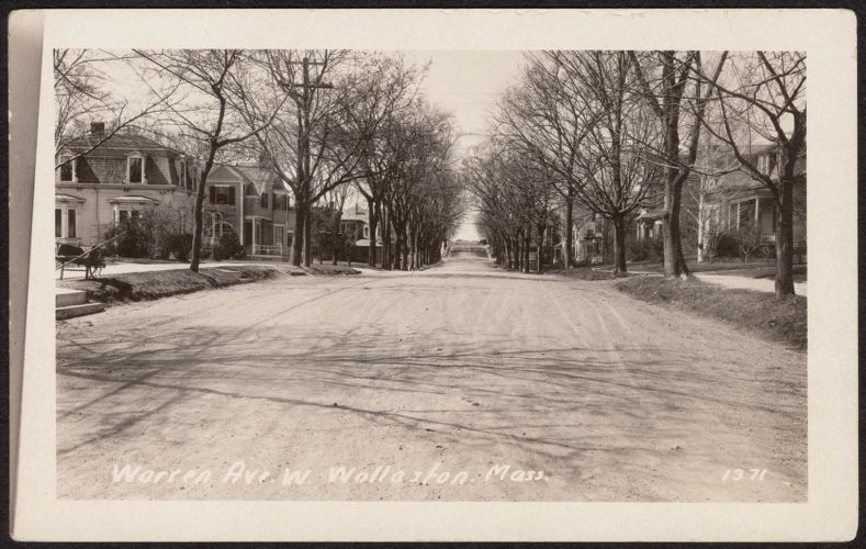 Warren Ave. W., Wollaston, Mass