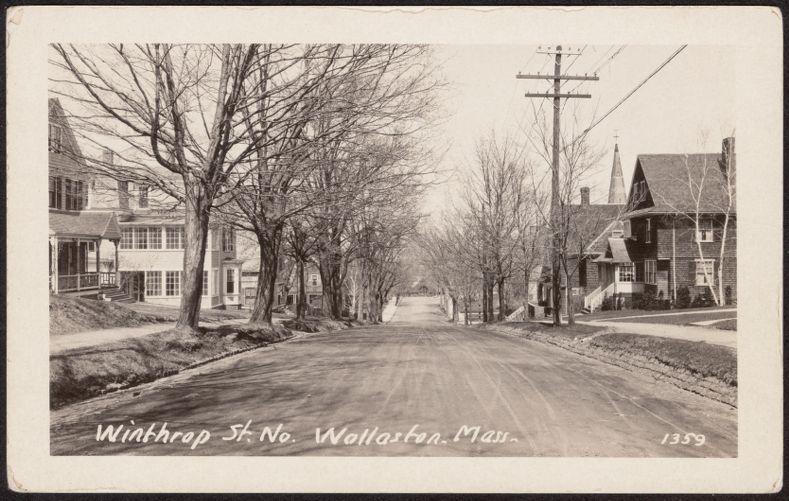Winthrop St. No., Wollaston, Mass