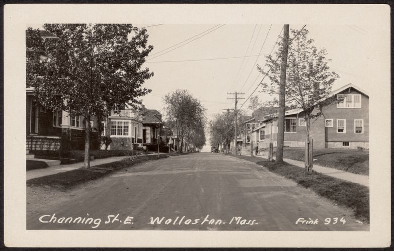 Channing St. E., Wollaston, Mass